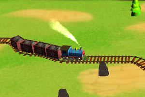 为小火车铺路