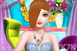《豪华舞会发型》游戏画面3
