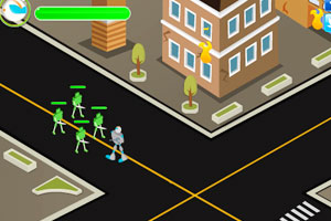《外星机器人入侵》游戏画面1