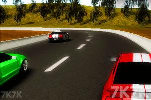 《3D小镇飙车2》游戏画面1