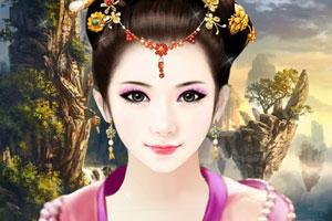 手绘仙女美容装扮