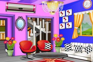 《客厅装修》游戏画面1