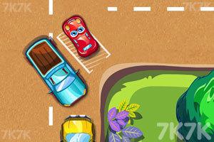 《停靠卡通车》游戏画面4