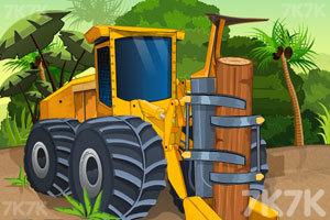 《森林伐木卡车》游戏画面1