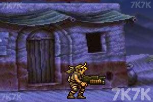 《合金弹头之沙漠孤城》游戏画面4