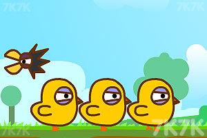 《三只小黄鸡》游戏画面3