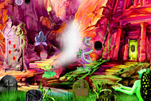 《逃出污垢魔鬼谷》游戏画面1
