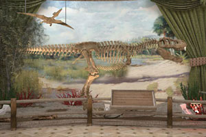 逃出化石博物馆
