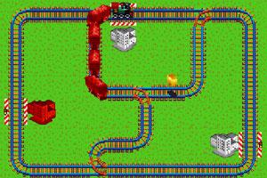《指挥小火车》游戏画面1