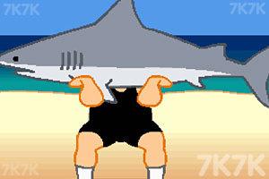 《鲨鱼举重赛》游戏画面2