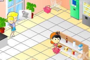《超市繁忙的一天》游戏画面1