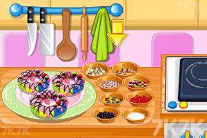 《烤彩虹甜甜圈》游戏画面4