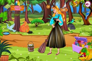 奥罗拉公主森林清洁