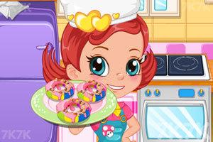《烤彩虹甜甜圈中文版》截圖1