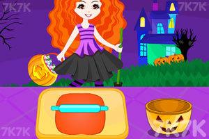 《万圣节南瓜纸杯蛋糕》游戏画面1