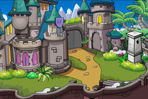 《漂亮的城堡逃脱》游戏画面1