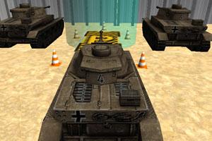 《军队坦克停车》截图1