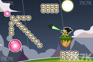 《大炮轰骷髅》游戏画面1