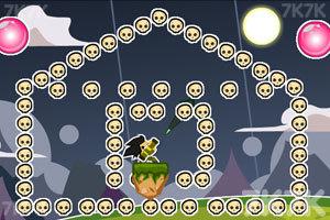 《大炮轰骷髅》游戏画面2