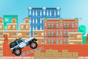 《驾驶警车追小偷》游戏画面1