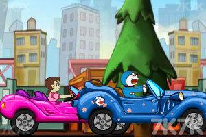 《哆啦A梦赛车比赛》截图3
