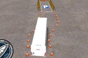 《公交车停车考核》游戏画面1