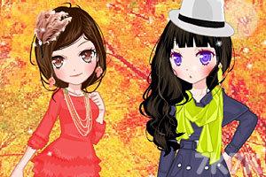 《秋游姐妹花》游戏画面1