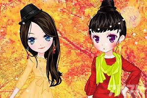 《秋游姐妹花》游戏画面2