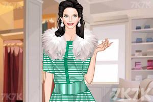 《时尚吊带长裙》游戏画面1