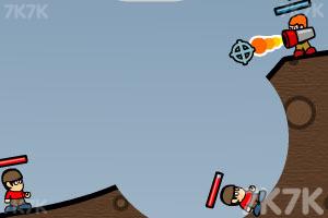 《杰克小子百战天虫》游戏画面3
