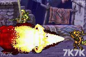 《合金弹头之沙漠孤城无敌版》游戏画面2
