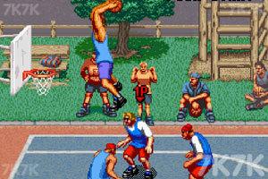 《街头篮球街机版》游戏画面2