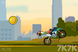《越野摩托特技赛》游戏画面4