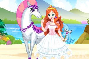 《白马公主2》游戏画面2