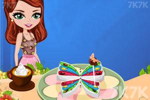 《漂亮蝴蝶生日蛋糕》截图1