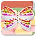 漂亮蝴蝶生日蛋糕