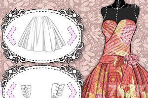 《设计芭比公主裙》截图4