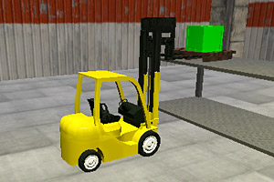 《叉车驾驶》游戏画面1