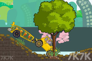 《大卡车运送食物》游戏画面2