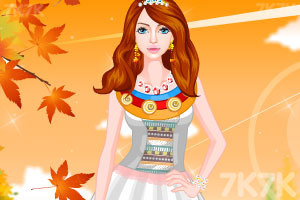 《时尚的民族服饰》游戏画面1