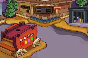 《解救被困的鹦鹉》游戏画面1