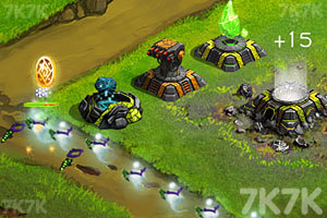 《星际塔防战》游戏画面2