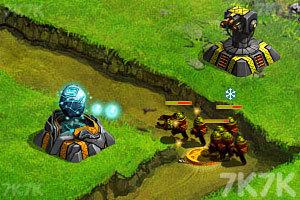 《星际塔防战》游戏画面3