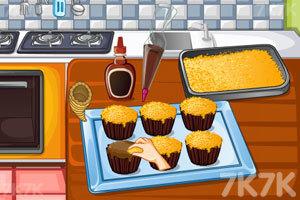 《感恩节火鸡纸杯蛋糕》截图1