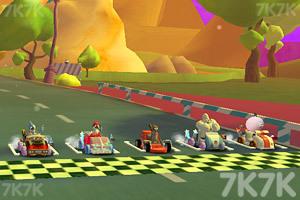 《天兵公园卡丁车赛》游戏画面4