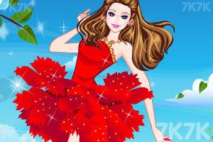 《漂亮的礼服裙》游戏画面1
