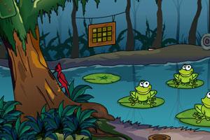 《神秘的森林逃脱》游戏画面1