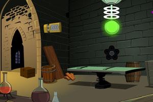 《化学实验城堡逃生》游戏画面1
