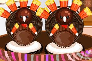 《感恩节火鸡小饼干》截图2