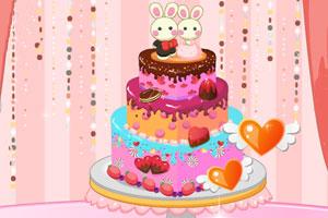 《漂亮的婚礼蛋糕》游戏画面1
